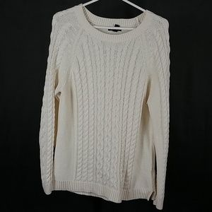 3 for $12- Large Ivory Gap Sweater